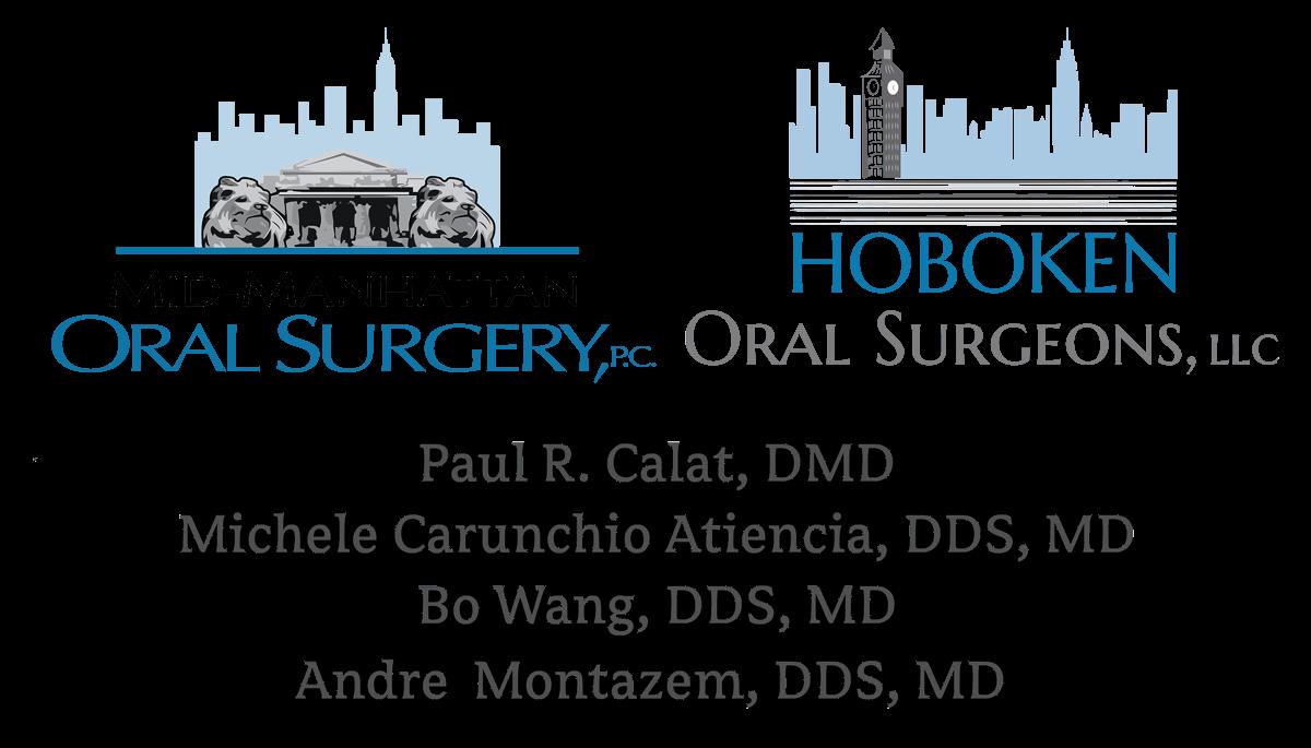 Mid-Manhattan Oral Surgery and Hoboken Oral Surgeons logos
